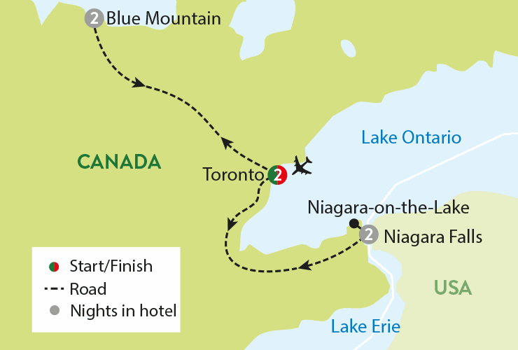 8 Day Tour Holiday To Toronto Niagara Falls Travelsphere