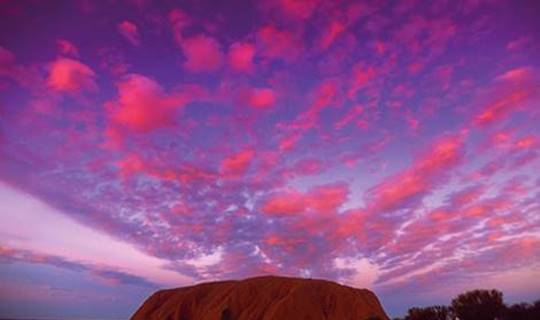 Uluru/Ayers Rock in Australia