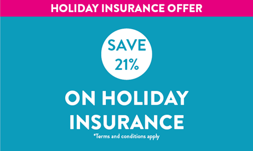 Holiday Insurance offer