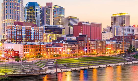 Nashville, The Deep South, United States